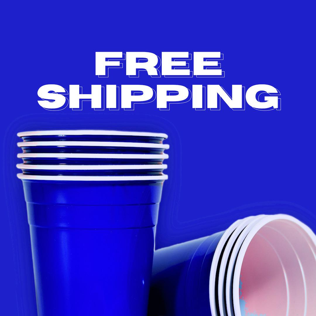 Blue Cups บลูคัพ | แก้วปาร์ตี้สีน้ำเงิน