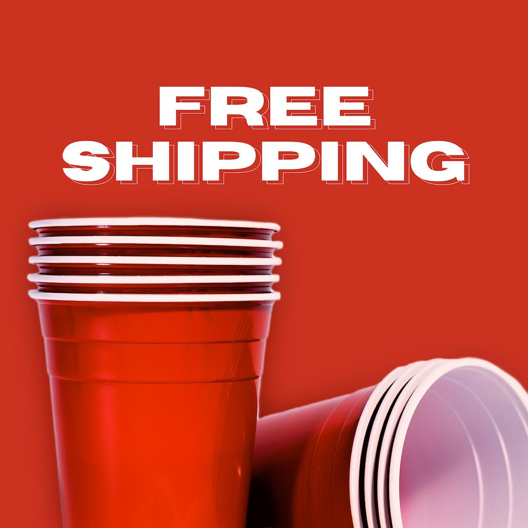 Red Cups เรดคัพ | แก้วปาร์ตี้สีแดง